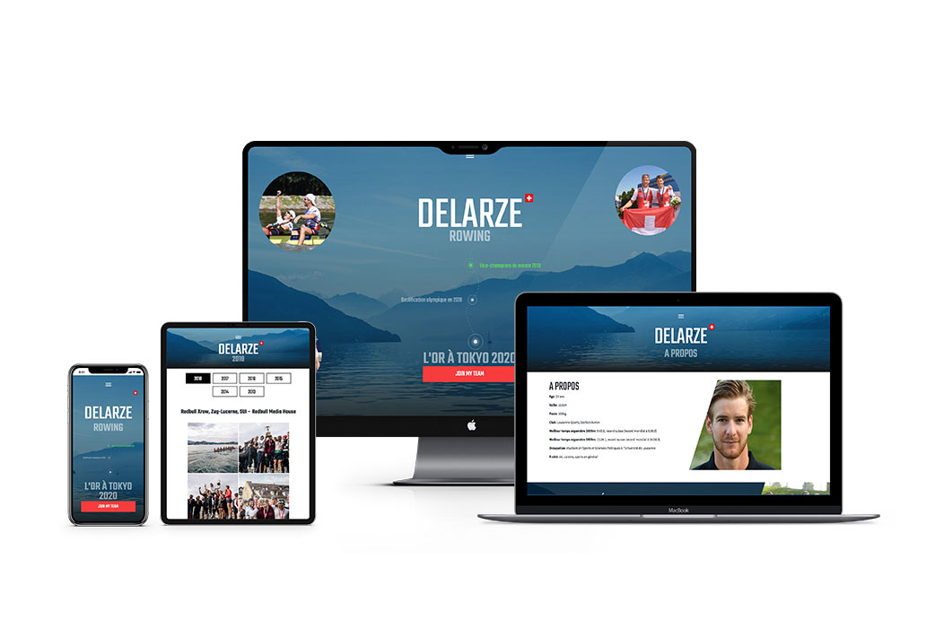 ELK agency's achievements, Creative & Digital agency in Lausanne for BARNABE DELARZE