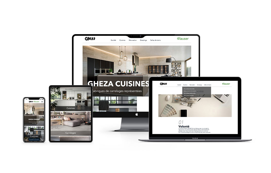ELK agency's achievements, Creative & Digital agency in Lausanne for GHEZA CUISINES