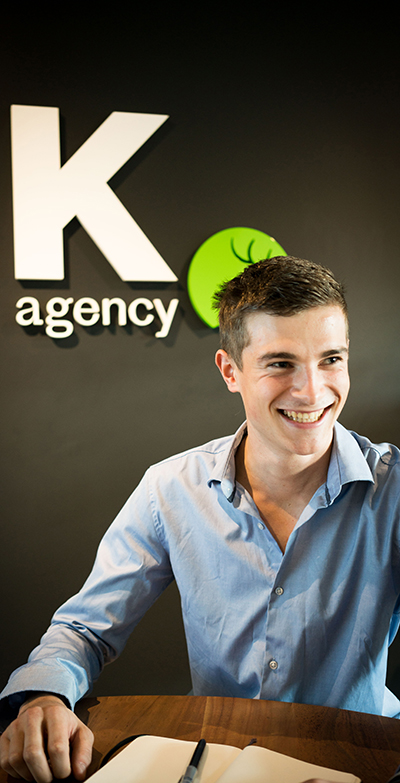 Guillaume Junior Account Manager at ELK agency, in Lausanne