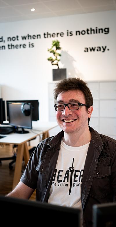Kevin Full Stack Developer chez ELK agency, Agence Web & Communication Digitale à Lausanne